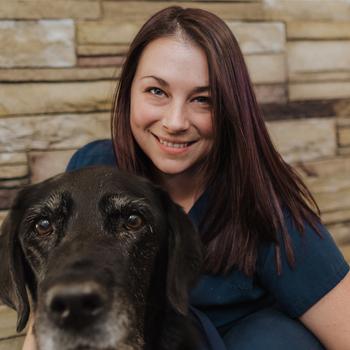 Bethany headshot, Wilbraham Animal Hospital staff, western MA animal hospital